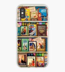 Travel Guide Book Shelf iPhone Case