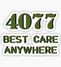 M*A*S*H fan -- v. 2.0 Sticker