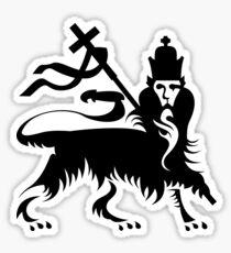 Congo Natty Logo - Lion with Cross Sticker