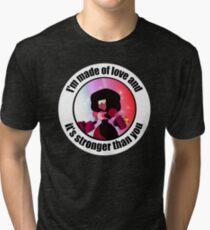 Stronger Than You Steven Universe Garnet Tri-blend T-Shirt