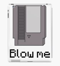 NES cartridge- blow me iPad Case/Skin