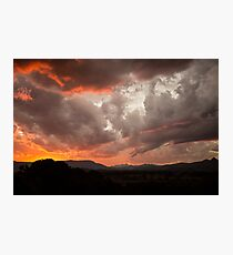 Mullum Sunsets Photographic Print
