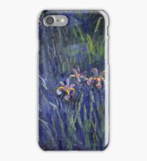 Claude Monet - Irises 2 1917 iPhone Case/Skin