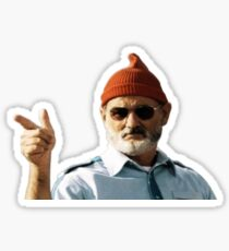 Bill Murray - The Life Aquatic non pixel  Sticker