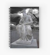 Moses by Michelangelo Spiral Notebook
