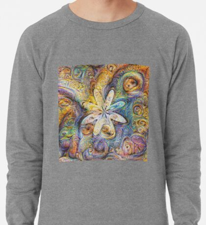 Eight armed starfish #DeepDream Lightweight Sweatshirt