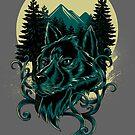 einsamer Wolf von motymotymoty