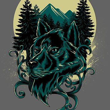 Lobo solitario de motymotymoty