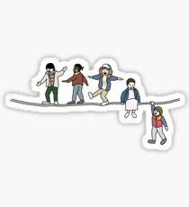 Stranger Things: The Acrobats and the Fleas Sticker