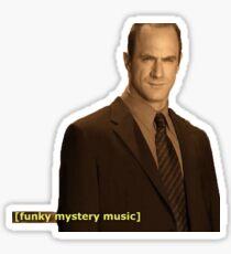 funky mystery music Sticker