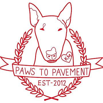 Paws To Pavement Dog Walking San Diego Red by Ejmckinney19