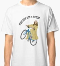Christ on a bike Classic T-Shirt