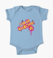 I am an Anarchist One Piece - Short Sleeve