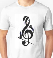 The Treble with Cello Girls Music T-Shirt