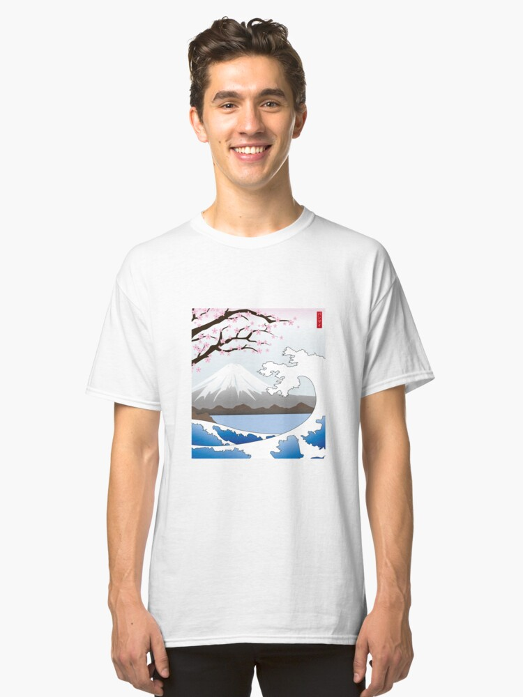 Mount Fuji Classic T-Shirt Front