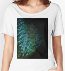 Peacock Feather Women's Relaxed Fit T-Shirt