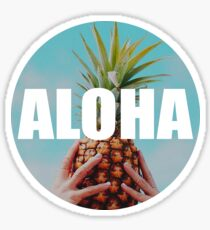 Sticker aloha Sticker
