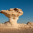 Rock Formations, White Desert, Egypt by Petr Svarc
