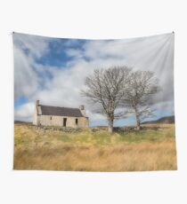 Highland Cottage. Wall Tapestry