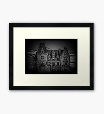 Adams Family Mansion Framed Print