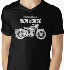 Iron Horse Mens V-Neck T-Shirt