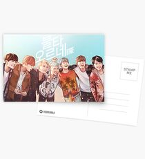 BTS HYYH | Feuer Postkarten