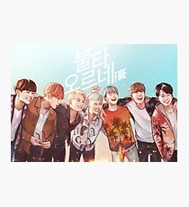BTS HYYH | Fire Photographic Print
