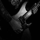 Musical Woodgrain - Electric Guitar by Erick Sodhi