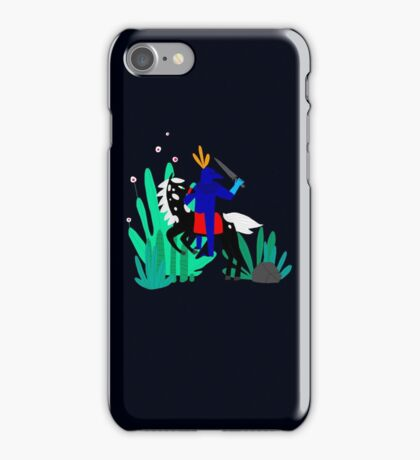Cavalier Bleu iPhone Case/Skin