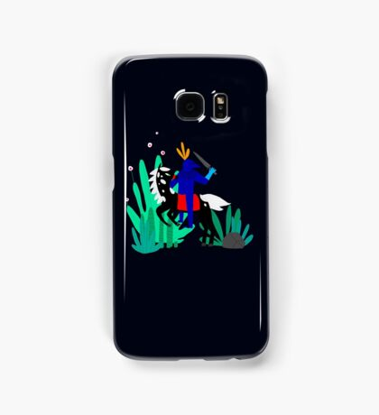 Cavalier Bleu Samsung Galaxy Case/Skin