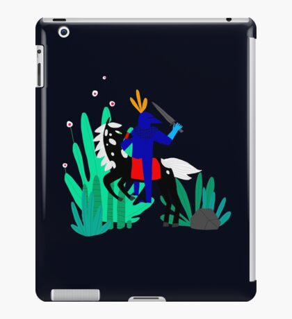 Cavalier Bleu iPad Case/Skin