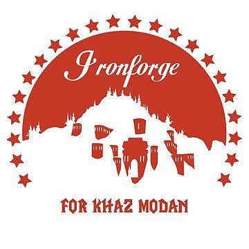 Ironforge for Khaz Modan by Cotchios