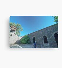 Shot tower, La Cruz lead smelter, Linares, Spain Canvas Print