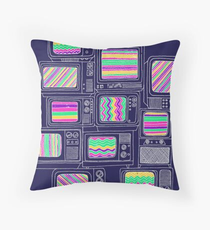 Inteference Throw Pillow