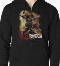 Tomb Raider Zipped Hoodie