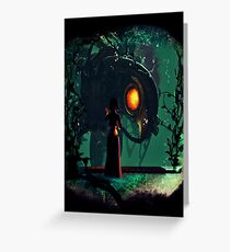Bioshock Infinite Songbird & Elizabeth Greeting Card