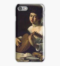 Caravaggio - Violinist iPhone Case/Skin