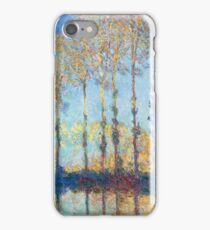 Claude Monet - Poplars On The Banks Of The Epte 1891 iPhone Case/Skin