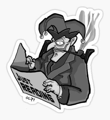 Pop: Just Reading Sticker