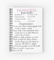 Pancakes recipe (ita) Spiral Notebook