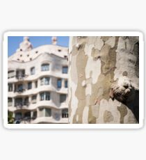 Casa Mila Sticker
