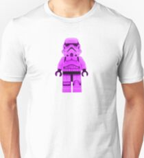 Lego Storm Trooper in Purple Unisex T-Shirt