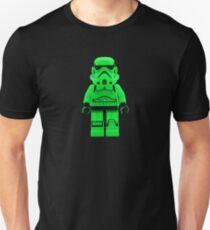 Luminous Green Lego Storm Trooper Unisex T-Shirt