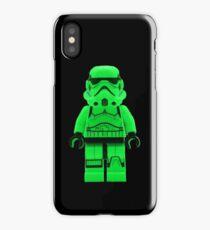 Luminous Green Lego Storm Trooper iPhone Case/Skin