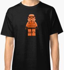 Orange Lego Storm Trooper Classic T-Shirt