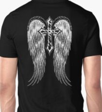 Cross with wings Unisex T-Shirt