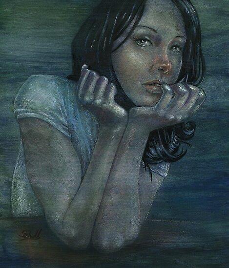 blue companion by Michael Scholl