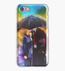 X-files Kiss in the Rain iPhone Case/Skin