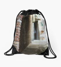 An Alley in Venice  Drawstring Bag