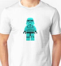 Turquoise Blue Lego Storm Trooper T-Shirt